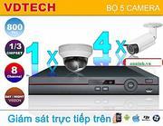 BỘ 5 CAMERA VDTECH DK-VD5180H
