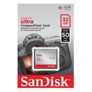 Thẻ Nhớ Sandisk CF Ultra 50MB/S 32GB (Đen)