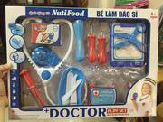 Bộ đồ chơi bác sĩ có âm thanh Nutifood