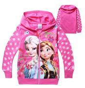 Disney Frozen Princess Elsa Kids Casual Tops Jacket Coat size 5t