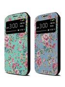 Ốp lưng điện thoại Hàn Quốc: Club mobile (French flower cover)