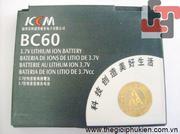 Pin DLC Motorola KCM  BC60