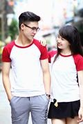 Thun couple RL trang do do