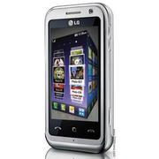 Điện thoại LG KM900 Arena Silver