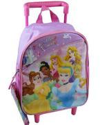 Balo Kéo Disney Princess Backpack Bé mẫu giáo USA