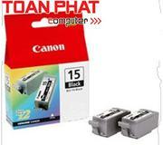 Mực in Phun màu Canon BCI - 15BK (Black) - Màu đen - Dùng cho Canon XNU i-70, 80, PIXMA iP-90, 90v