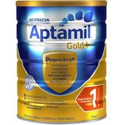 Sữa Aptamil Gold+ 1 Infant Formula 900g