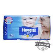 Tã-bỉm dán Huggies Dry XL34