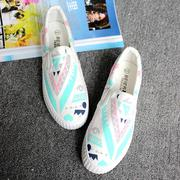Giày slip on graffiti 7258