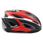 Mũ bảo hiểm nhám A02NM019L Đen đỏ trắng