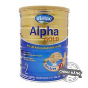 Sữa bột Vinamilk Dielac Alpha Gold Step 2 (900g)
