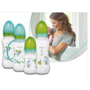 Bình sữa Bebe Confort nhựa (120ml) BPA free