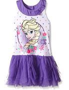 Disney Little Girls Frozen Elsa Dress 6t