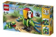 Mô Hình LEGO Creator - Động Vật Rừng Nhiệt Đới 31031