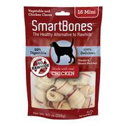 Bánh gặm SmartBones nhân thịt gà mini 16 cái - SCB- 00201