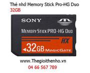 Thẻ nhớ Sony Memory Stick Pro Hg-Duo 32GB