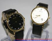 Đồng hồ dây da Ro mặt gợn sóng độc đáo DHNN99