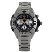 Nexus Men's Chronograph Orange Dial Watch #D7267-06E