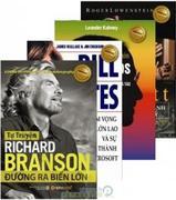 Bộ 4 cuốn sách trí tuệ xuất chúng thiên tài kinh doanh (free ship toàn quốc)