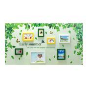 Bộ khung ảnh treo tường BinBin KA002 (Xanh lá cây)