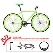 Xe đạp Topbike Fix khung màu xanh lá