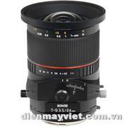 Bower 24mm f/3.5 ED AS UMC Tilt-Shift Lens (Canon EF Mount)      Mfr# SLY24TSC
