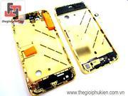Khung xương Iphone 4 Gold 18K  ( Full set )
