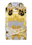 Áo choàng tắm Versace Z7020 đen-xám-vàng ZSEP0026. Z7020