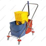 Xe đẩy vắt cây lau nhà 2 ngăn CLEPRO Model: CP -043