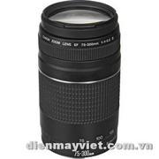Canon Zoom Telephoto EF 75-300mm f/4.0-5.6 III Autofocus Lens USA     Mfr# 6473A003