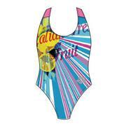 Áo bơi một mảnh bé gái Arena-JSS5410WL Xanh