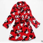 Áo Khoác Tắm Mickey Đỏ size 6-10t