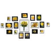 Bộ khung ảnh nhựa 18 khung Khu vườn tí hon BK001-N