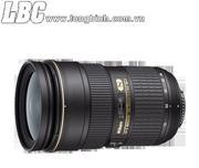 Lens NIKON Zoom AF-S NIKKOR 24-70mm f/2.8G ED (2.9x) (chính hãng Nikon VN - VIC)
