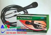 Micro Nanomax Pro-555 | Micro có dây chất lượng tốt giá rẻ tại Hà Nội
