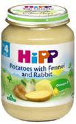 Dinh dưỡng đóng lọ khoai tây thịt thỏ Hipp 4+