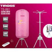 Máy sấy quần áo điều khiển từ xa Tiross TS-881, công suất 900W