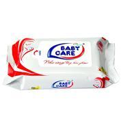 Khăn ướt Baby Care 10 tờ - Mùi phấn - AVN