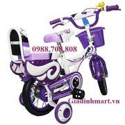 Xe đạp trẻ em 2 bánh Helokitty, cho trẻ từ 2 - 4tuổi