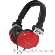 Tai nghe Panasonic RP-DJS-400 DJ Street Style Headphones (Red)