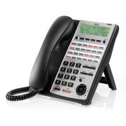Điện thoại Kỹ thuật số 24 phím chức năng (màu đen)