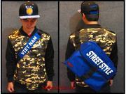 Cặp đeo chéo Street Style - màu xanh dương