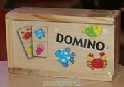 Bộ Ghép Hình Bằng Gỗ Domino