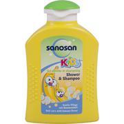 Sữa tắm và gội cho trẻ hương trái cây chuối Sanosan Baby 200ml