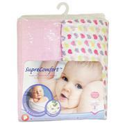 Bộ 2 Khăn Choàng Ngủ Màu Hồng Lucky Baby 151617P