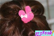 Cột tóc thỏ đeo nơ dễ thương CT3(CT3)