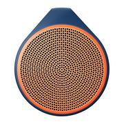 Loa Bluetooth Logitech X100 Blue /Orange Grill