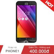 Asus Zenfone 2 Laser ZE500KG 1.2GHz/2GB/16GB Trắng (Hàng chính hãng)
