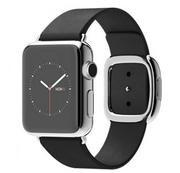 Apple Watch 38mm Stainless Steel Case with Black Modern Buckle - Hàng FPT