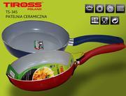 Chảo rán Tiross ceramic TS-345 chống dính 24cm